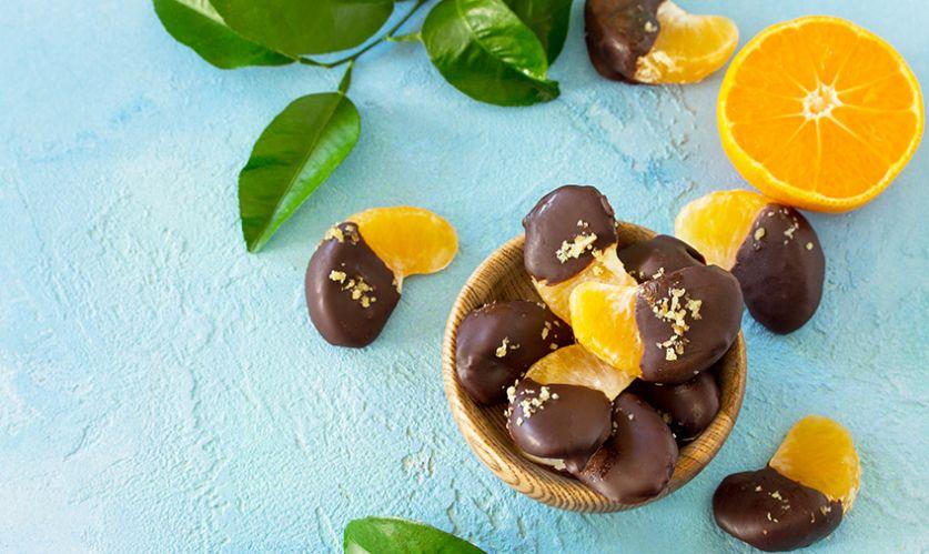Suklaiset mandariinit